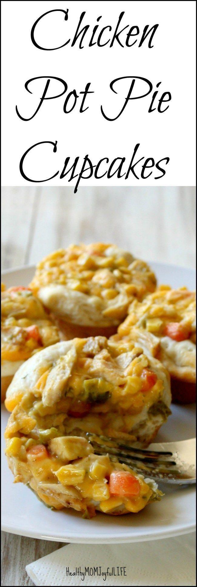 chicken pot pie cupcakes pot pie cupcakes chicken pot pies chicken ...