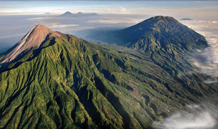 java indonesia | Merapi and 6 other Volcanoes on Java