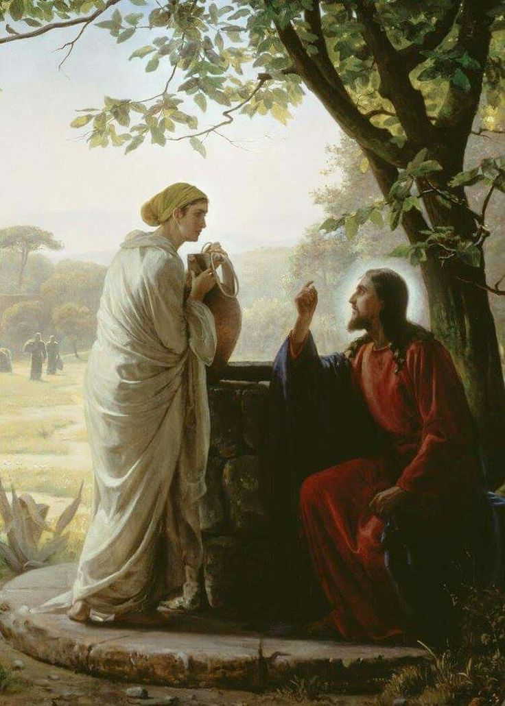 EVANGELIO DE HOY: SABEMOS QUE JESÚS ES VERDADERAMENTE EL SALVADOR DEL MUNDO  Lectura del santo evangelio según san Juan (4,5-42):  En aquel tiempo, llegó Jesús a un pueblo de Samaria llamado Sicar, cerca del campo que dio Jacob a su hijo José; allí estaba el manantial de Jacob. Jesús, cansado del camino, estaba allí sentado junto al manantial. Era alrededor del mediodía.   Llega una mujer de Samaria a sacar agua, y Jesús le dice: «Dame de beber.» Sus discípulos se habían ido al pueblo a…