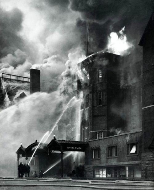 Virna Haffer - Old Tacoma Hotel Fire, 1935