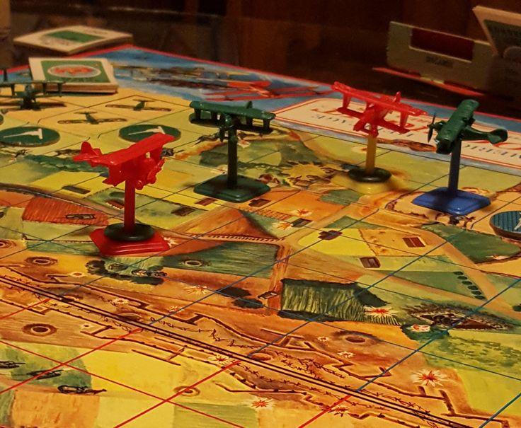 WW1 arial combat board game Game design, Board games