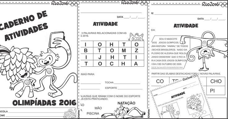 Lipitipi- Atividades e Projetos Fundamental I: Sequência Didática Olimpíadas Rio 2016 Alfabetização