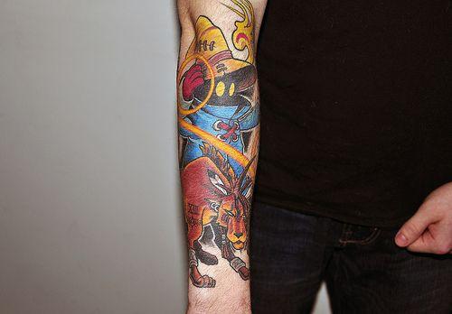Imaging Final Fantasy Tattoo Sleeve