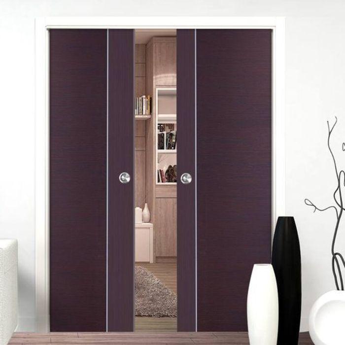 Great kleine Wandgarderobe starke lila Farbe ganzk rper spiegel schwarz wei e deko