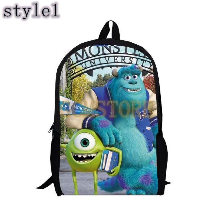 Kids Personalized Backpack Monsters Inc. Cartoon Anime Fashion Schoolbags #bag #backpack #schoolbag #bookbag #disney #men #women #young #teens #boys #girls #children #kids #animal #love #fashion #style #stylish   #shopping #cool #cute #amazing #fun #funny #beautiful #follow #followme #shoutout #likes #comment