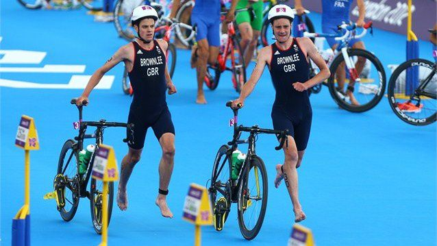 Twitter / London2012: Pic: Brownlee brothers Alistair ...