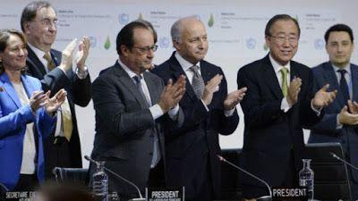 Un Mundo en Paz: La Cumbre de París cierra con un acuerdo histórico...