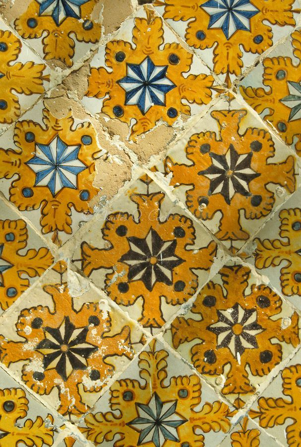 Tunis Handmade tiles can be colour coordinated and customized re. shape, texture, pattern, etc. by ceramic design studios