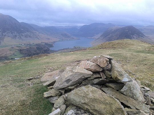 A little known walk over Fellbarrow near Buttermere