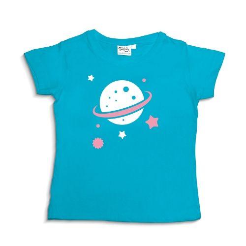 """Camiseta Espacial / niña """"SATURNO"""""""