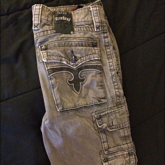 Mens 32 rock revivals shorts Mens 32 rock revival shorts Rock Revival Jeans