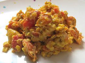 Cocotte forever: Lentilles corail et tomates coco/curry : 179 calories