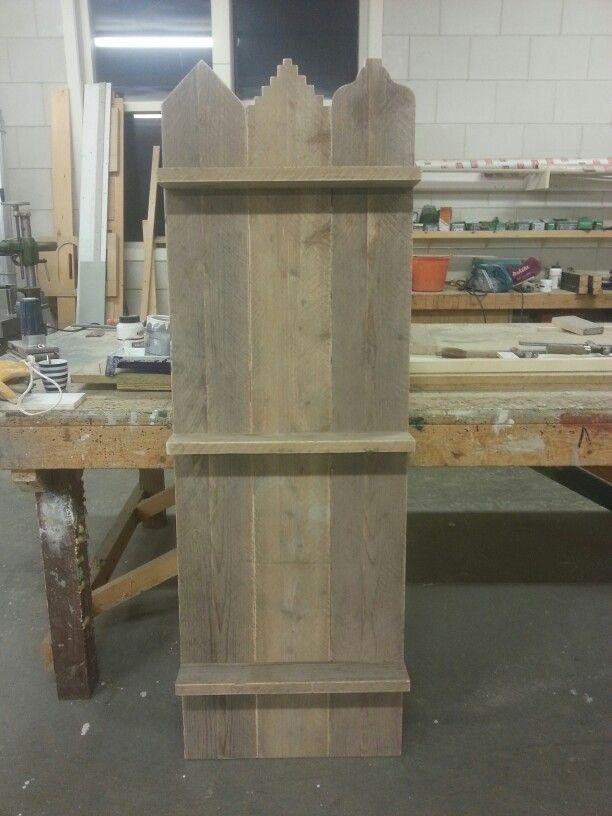 Wand paneel steigerhout #2