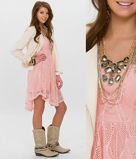 Dress And Boots Both For Sale At Quail Springs Buckle Okc