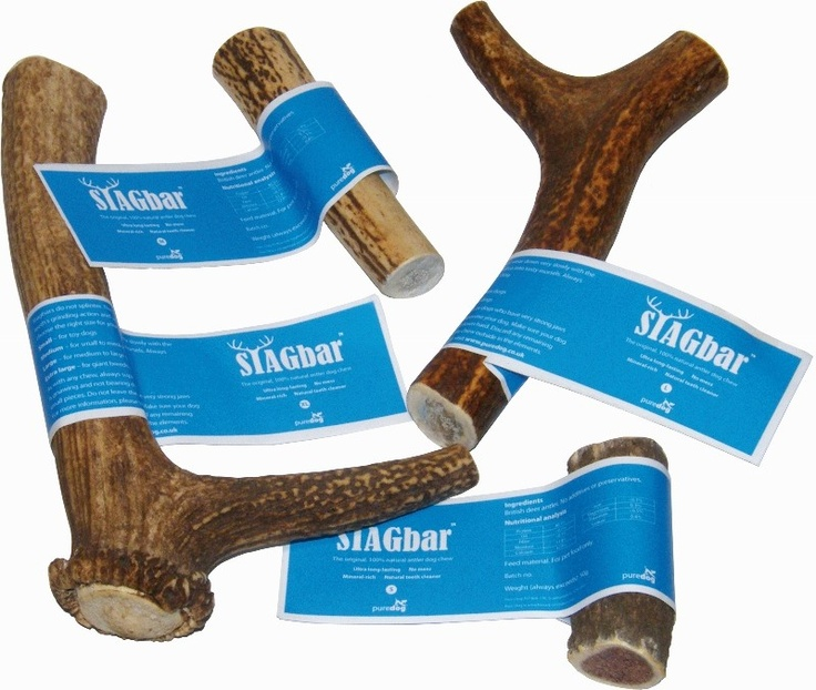 Stag Bar - Natural Antler Dog Chew