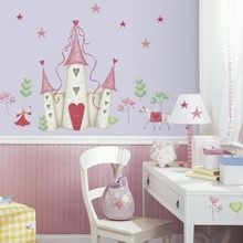 Wall stickers med prinsesseslot