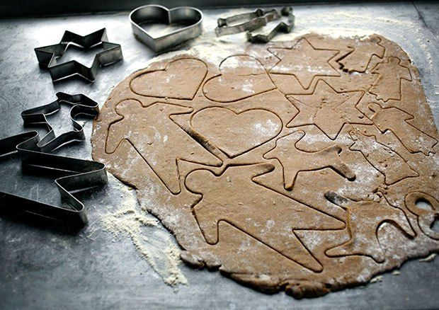 Pepper Cookies (pepparkakor) from The Scandinavian Kitchen: 100 Essential Nordic Ingredients and 250 Authentic Recipes by Camilla Plum