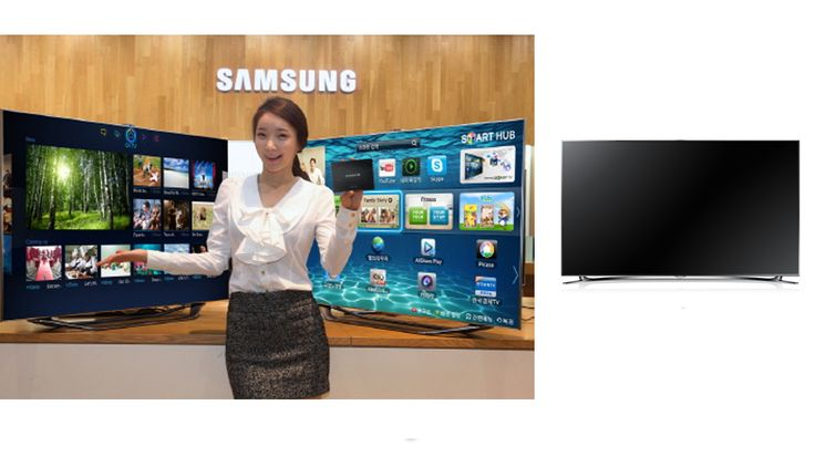 The UN55F8000 belongs to a brand-new series being rolled out by Samsung, offering buyers a more total multimedia experience.