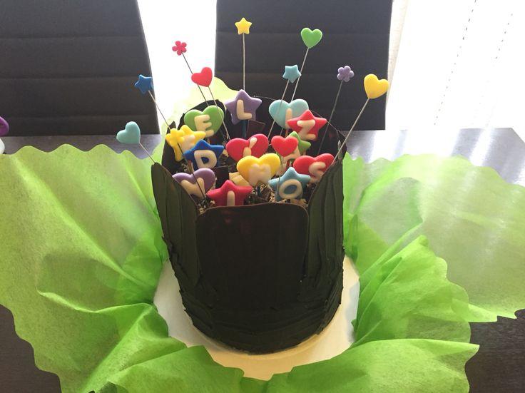 #Chocolate #cake #DíadelNiño