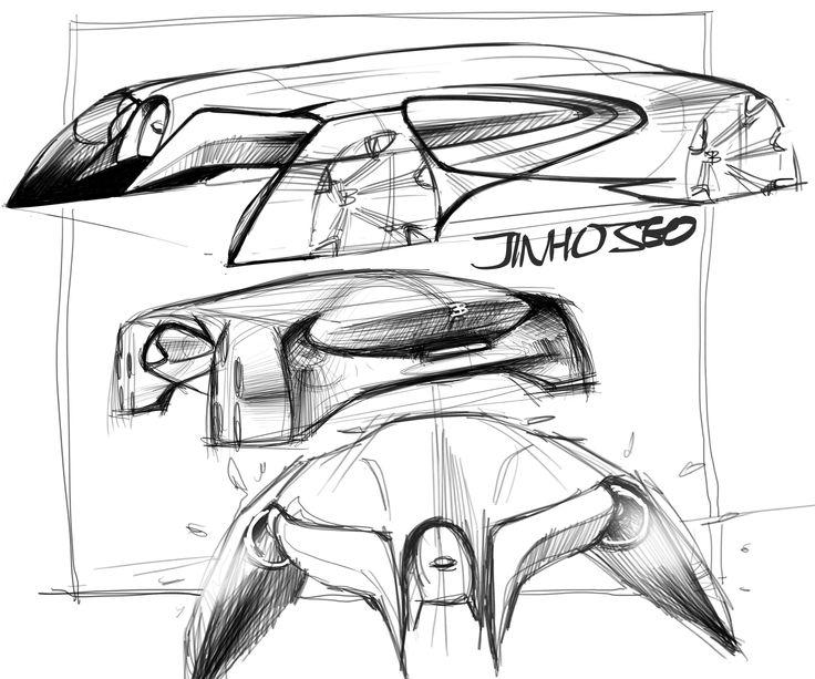 Bugatti random sketch 2017