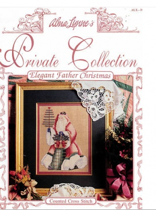 Elegant Father Christmas by Alma Lynne