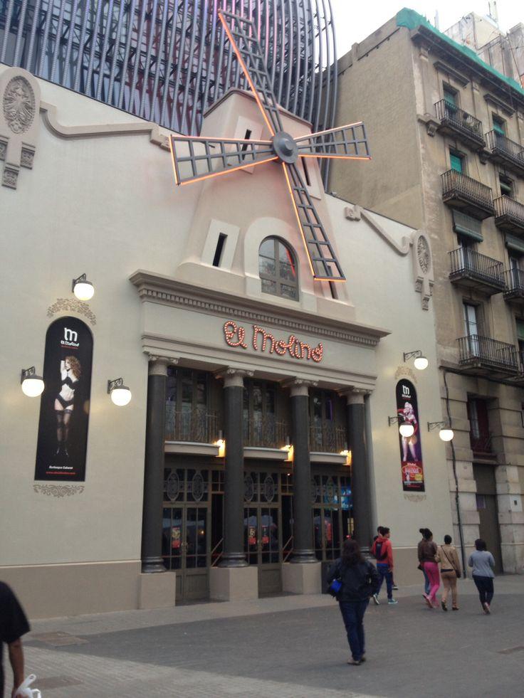 El teatro en Barcelona, Spain