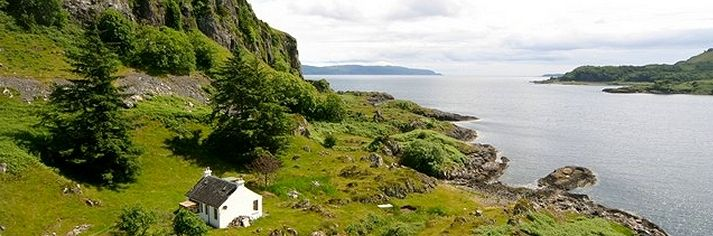 Coastal and waterside holiday cottages in Scotland - Tigh Beg Croft near Oban - http://www.cottagesbywater.co.uk/cottages-scotland.htm
