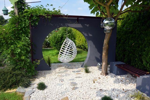 Ogród prywatny- Mała architektura- Brzesko Projekt i Realizacja: BS Ogrody