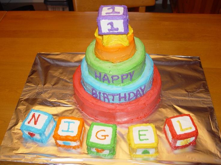 Baby S 1st Birthday Cake My Best Cake Ideas Pinterest