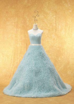Macaroon blue dress