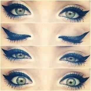 Literally Flawless Cat Eye Makeup