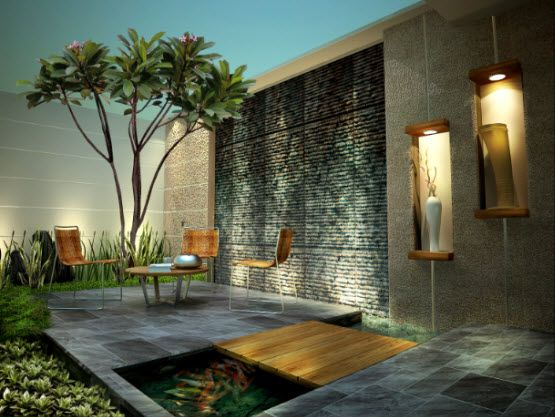 Garden Design Idea for Minimalist Home