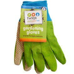 TWIGZ -Gardening Gloves of preschoolers#toys2learn#twigz#garden#gloves#preschool#children#kids#veggie#patch#sand#play#australia#