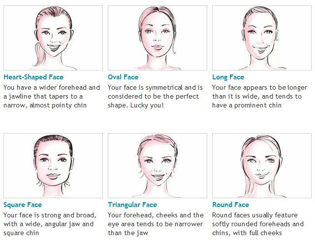 How To Shape Eyebrows According To Face Shape Heart Face Shape Face Shapes Glasses For Your Face Shape