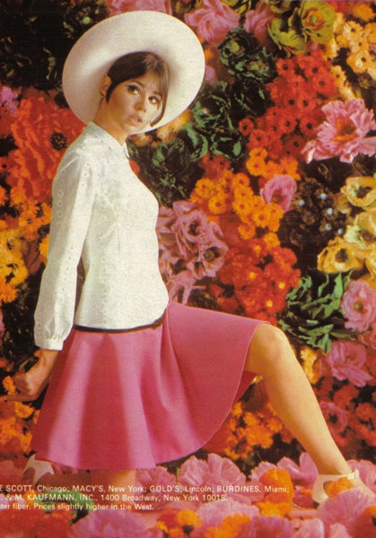 Pink and White Dress - Colleen Corby - 1960s