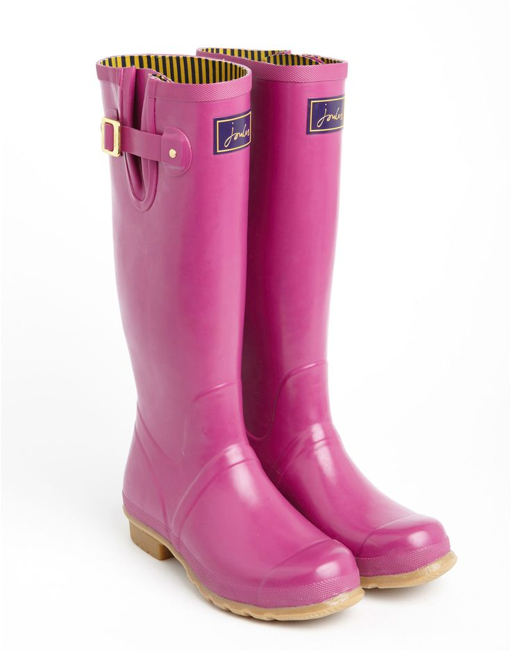 Perfect Joules Wellies In Floral Print  Rain Boots  Pinterest