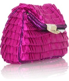 Fendi silk with pleated ruffles. ❤ Pinned by Cindy Vermeulen. Please check out my other 'sexy' boards. X.
