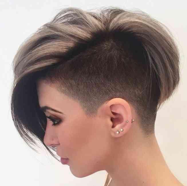 Frisuren Damen Kurz Undercut 2018 Modesonne Frisuren 2018 Kurz Frauen | Einfache Frisuren
