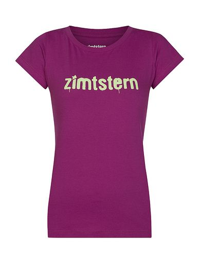 SprayLogo | Women's T-Shirt | Fall / Winter Collection 2013 / 2014 | www.zimtstern.com | #zimtstern #fall #winter #collection #womens #tshirt #tee #shirt #street #wear #streetwear #clothing #apparel #fabric #textile #snow