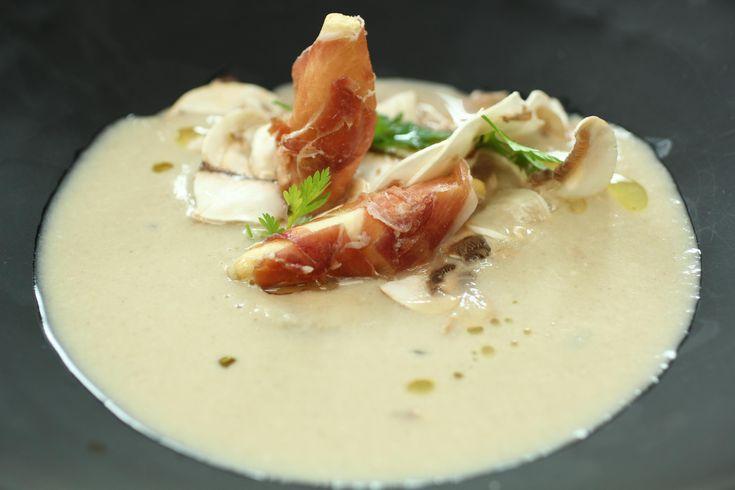 Sopa de champiñones - Los programas de RobinFood