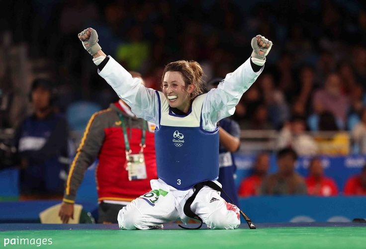 Double olympic champion at just 23. #TeamGB Jade Jones defends #taekwondo title at Rio2016 in #rio2016 in phlow