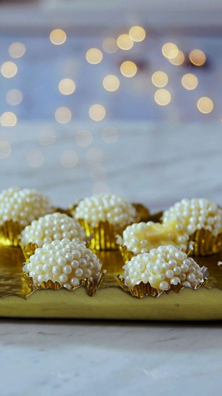Já provou o delicioso brigadeiro de champagne?