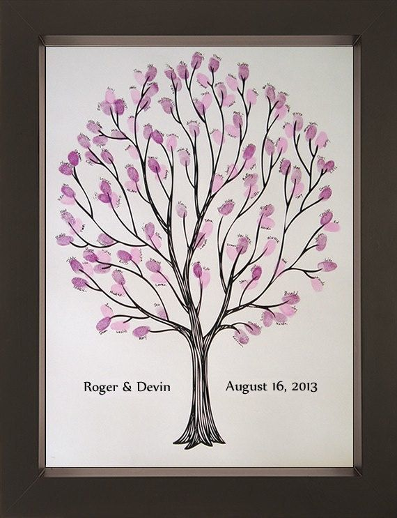 Hey, I found this really awesome Etsy listing at https://www.etsy.com/listing/68390283/tempo-wedding-thumbprint-tree-for-up-to