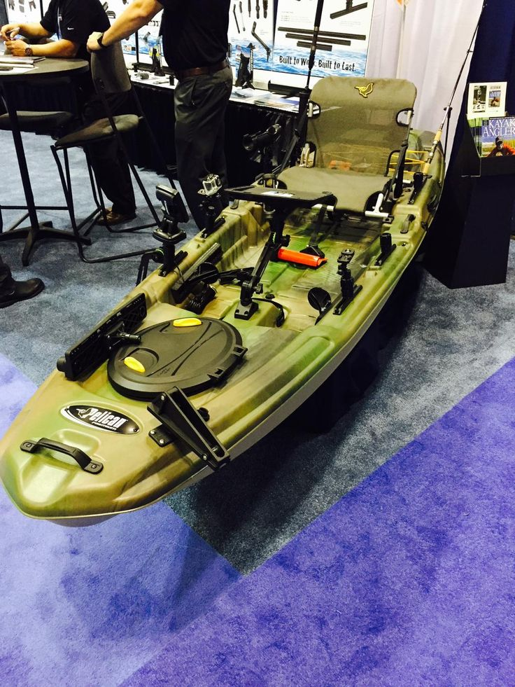 Great pic of our new The Catch 120 #fishing #kayak in @ICASTshow booth of…