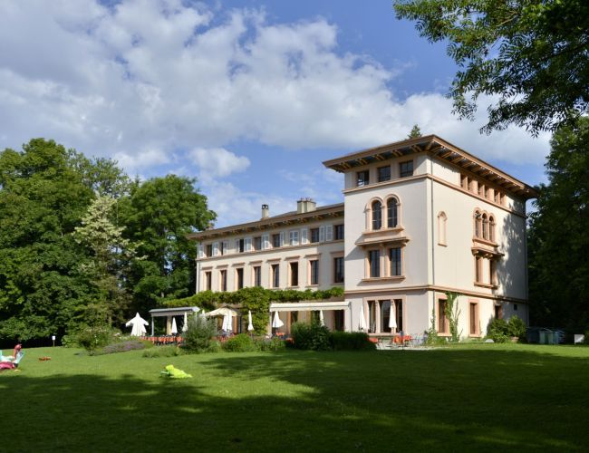 Le Castel de Bois-Genoud à Crissier (VD)