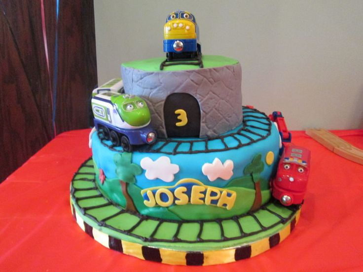 Best Chuggington Images On Pinterest Birthday Party Ideas - Chuggington birthday cake