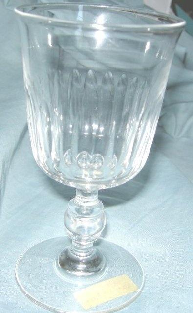 18th Century Georgian Flint Glass Goblet
