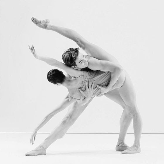 "<<Svetlana Lunkina and Evan McKie, ""Chroma"" choreography by Wayne McGregor, music by Joby Talbot and Jack White III, The National Ballet of Canada # Photo © Karolina Kuras>>"