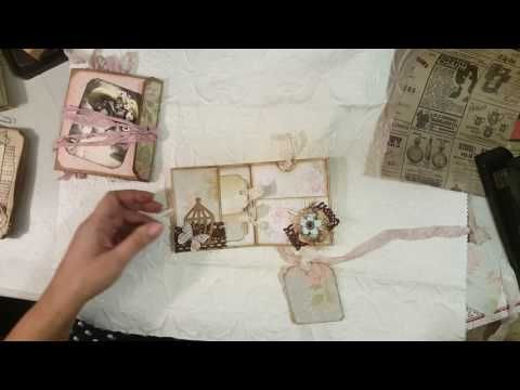 This tutorial was made for me ! My request . Small , junk journals .thank you !!!!!!