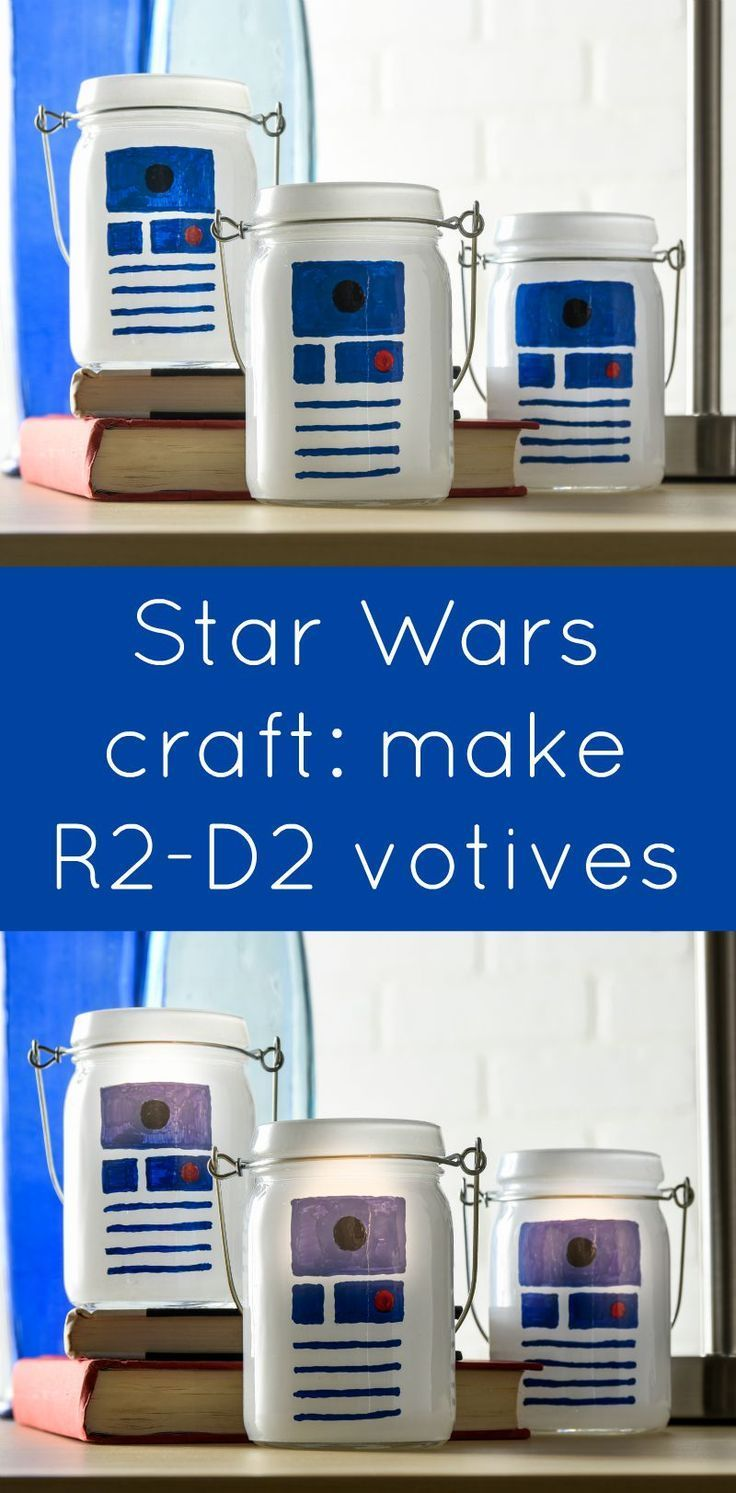 Star Wars Craft: R2D2 Luminaries